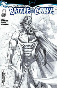 Cover Thumbnail for Batman: Battle for the Cowl (DC, 2009 series) #1 [Retailer Incentive Sketch Cover]
