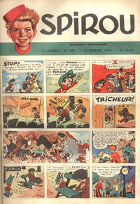 Cover Thumbnail for Spirou (Dupuis, 1947 series) #565