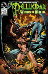 Cover Thumbnail for Pellucidar: Wings of Death (American Mythology Productions, 2019 series) #3