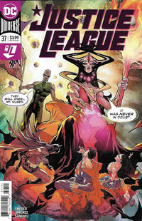 Cover Thumbnail for Justice League (DC, 2018 series) #37 [Francis Manapul Cover]