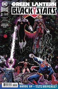 Cover Thumbnail for Green Lantern: Blackstars (DC, 2020 series) #2 [Liam Sharp Cover]