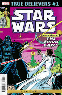 Cover Thumbnail for True Believers: Star Wars - Vader vs. Leia (Marvel, 2020 series) #1