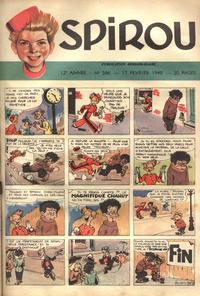 Cover Thumbnail for Spirou (Dupuis, 1947 series) #566