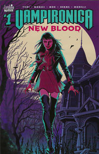 Cover Thumbnail for Vampironica: New Blood (Archie, 2020 series) #1 [Cover A - Audrey Mok]
