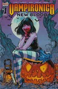 Cover Thumbnail for Vampironica: New Blood (Archie, 2020 series) #1 [Cover B Laura Braga]