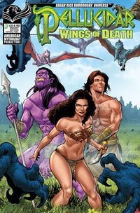 Cover Thumbnail for Pellucidar: Wings of Death (American Mythology Productions, 2019 series) #3 [Variant Cover]