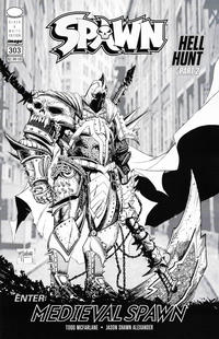 Cover Thumbnail for Spawn (Image, 1992 series) #303 [Cover C]