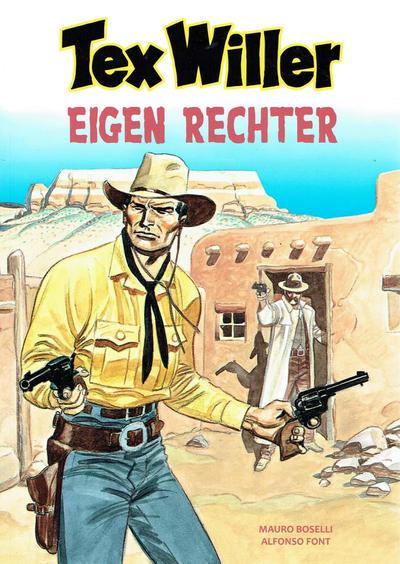 Cover for Tex Willer (HUM!, 2014 series) #12 - Eigen rechter