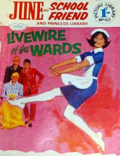 Cover for June and School Friend and Princess Picture Library (IPC, 1966 series) #421
