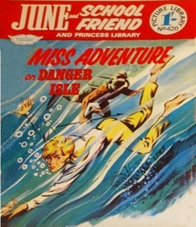 Cover for June and School Friend and Princess Picture Library (IPC, 1966 series) #420