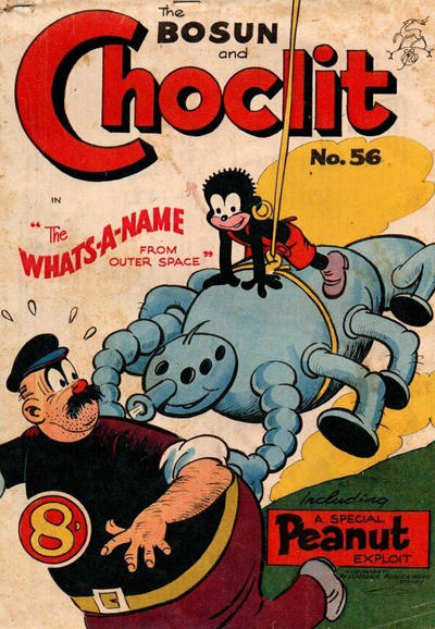 Cover for The Bosun and Choclit Funnies (Elmsdale, 1946 series) #56
