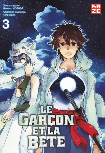 Cover for Le garçon et la Bête (Kazé, 2016 series) #3