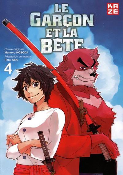 Cover for Le garçon et la Bête (Kazé, 2016 series) #4