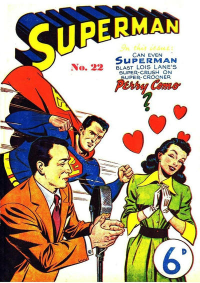 Cover for Superman (K. G. Murray, 1950 series) #22