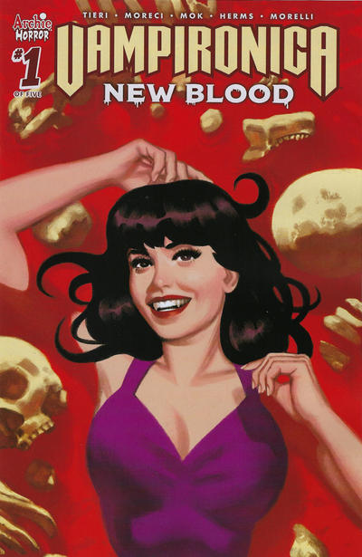 Cover for Vampironica: New Blood (Archie, 2020 series) #1 [Cover D Greg Smallwood]