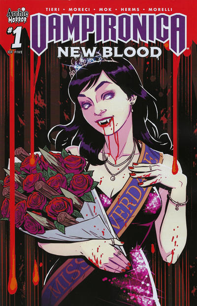 Cover for Vampironica: New Blood (Archie, 2020 series) #1 [Cover A - Audrey Mok]