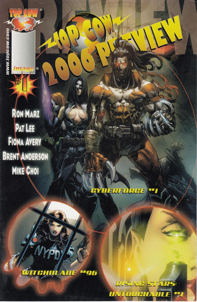 Cover for Top Cow 2006 Preview (Image, 2006 series) #1
