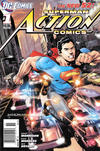 Cover for Action Comics (DC, 2011 series) #1 [Newsstand]