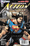 Cover for Action Comics (DC, 2011 series) #2 [Newsstand]