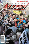 Cover for Action Comics (DC, 2011 series) #3 [Newsstand]