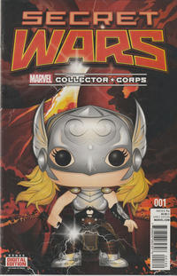 Cover Thumbnail for Secret Wars (Marvel, 2015 series) #1 [Collector Corps Exclusive Variant]