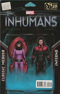 Cover Thumbnail for Ms. Marvel (Marvel, 2016 series) #2 [John Tyler Christopher Action Figure Two-Pack (Classic Medusa and Inferno)]