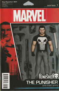 Cover Thumbnail for The Punisher (Marvel, 2016 series) #1 [John Tyler Christopher Action Figure (The Punisher)]
