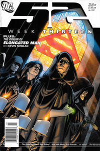 Cover Thumbnail for 52 (DC, 2006 series) #13 [Newsstand]