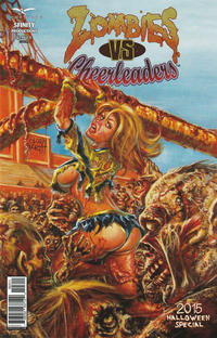 Cover Thumbnail for Zombies vs Cheerleaders: Halloween Special (Zenescope Entertainment, 2014 series) #[2] [Cover A]