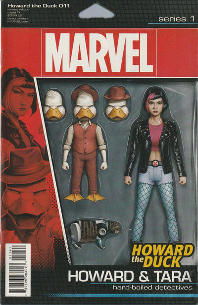 Cover for Howard the Duck (Marvel, 2016 series) #11 [Variant Edition - Chip Zdarsky 'Last Issue' Cover]