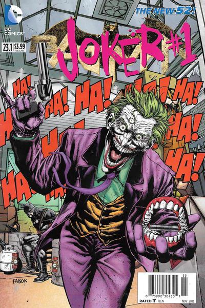 Cover for Batman (DC, 2011 series) #23.1 [Newsstand]