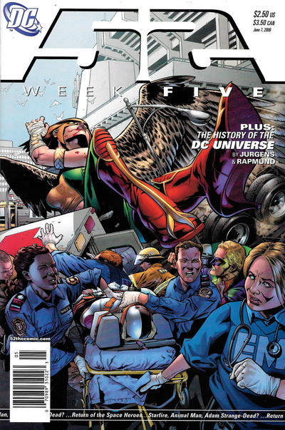 Cover for 52 (DC, 2006 series) #5 [Newsstand]