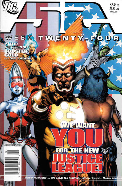 Cover for 52 (DC, 2006 series) #24 [Newsstand]