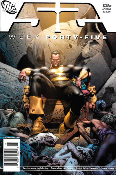 Cover for 52 (DC, 2006 series) #45 [Direct Sales]