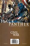 Cover for Black Panther (Marvel, 2005 series) #23 [Newsstand]