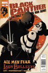 Cover Thumbnail for Black Panther: The Most Dangerous Man Alive (2011 series) #526 [Newsstand]