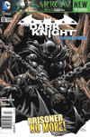 Cover for Batman: The Dark Knight (DC, 2011 series) #13 [Newsstand]