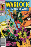 Cover for Warlock and the Infinity Watch (Marvel, 1992 series) #7 [Newsstand]