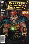 Cover for Justice League of America (DC, 2006 series) #6 [Newsstand]