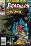 Cover for Deathlok (Marvel, 1991 series) #15 [Newsstand]