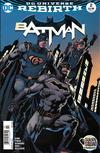 Cover for Batman (DC, 2016 series) #2 [Newsstand]