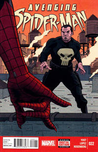 Cover Thumbnail for Avenging Spider-Man (Marvel, 2012 series) #22 [Direct Edition]