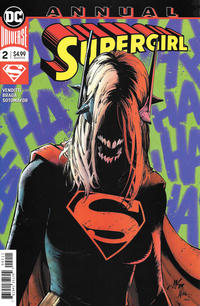 Cover Thumbnail for Supergirl Annual (DC, 2017 series) #2