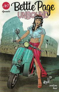 Cover Thumbnail for Bettie Page Unbound (Dynamite Entertainment, 2019 series) #7 [Cover D Vincenzo Federici]