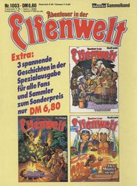 Cover Thumbnail for Abenteuer in der Elfenwelt (Bastei Verlag, 1984 series) #1003
