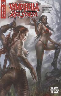 Cover Thumbnail for Vampirella/Red Sonja (Dynamite Entertainment, 2019 series) #4 [Cover C Lucio Parrillo]