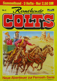 Cover for Rauchende Colts (Bastei Verlag, 1978 ? series) #2 [Österreich-Ausgabe]