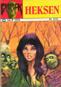 Cover Thumbnail for Chock-serien (Williams, 1973 series) #9
