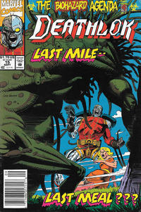 Cover Thumbnail for Deathlok (Marvel, 1991 series) #15 [Newsstand]