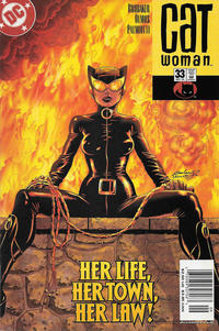 Cover Thumbnail for Catwoman (DC, 2002 series) #33 [Newsstand]